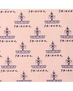 FLANNELETTE FRIENDS PAR CAMELOT - FOUNTAIN PÊCHE
