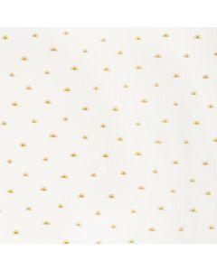 ORGANIC DOUBLE GAUZE BY POPPY - SUN WHITE