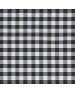 FABRIC DECOR BUFFALO SMALL CHECK - BLACK&WHITE