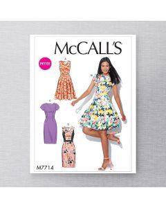 MCCALLS - M7714 - ROBES POUR FEMME - 6 À 14
