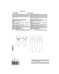 V1654-E5 - ROBES D'OCCASION POUR FEMMES - 14-22