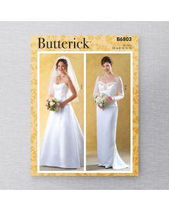 BUTTERICK - B6803 WEDDING KIT FOR MISS