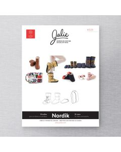 JALIE 4025 - NORDIK QUILTED BOOTIES AND SLIPPERS WITH TRAVEL BAG