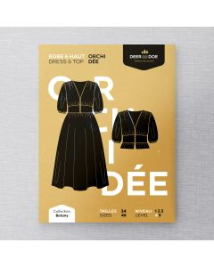 DEER AND DOE D0040 - ORCHIDEE DRESS FOR MISS