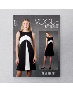 VOGUE - V1797 FITTED DRESS FOR MISS