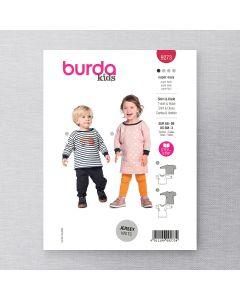 BURDA - 9273 BABY TOP & DRESS