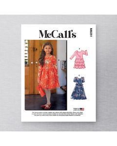 MCCALLS - M8251 DRESSES FOR CHILD